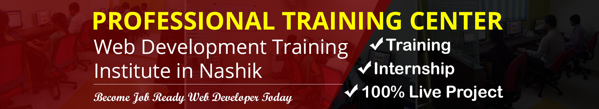 Web Development Training In Nashik With Live Project Internship
